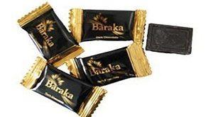 فروش شکلات تلخ باراکا 70 درصد