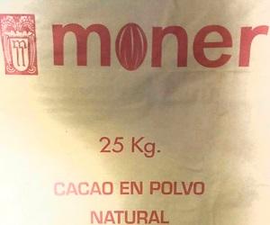 فروش پودر کاکائو نچرال اسپانیا moner